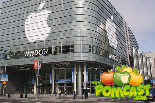 WWDC Black Curtain